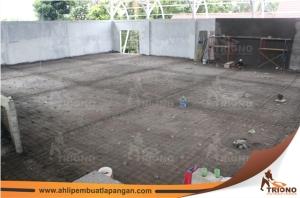 2, pengangkatan besi, kontraktor lapangan, pemborong lapangan, foto proses pengerjaan lapangan, tenis, basket, badminton